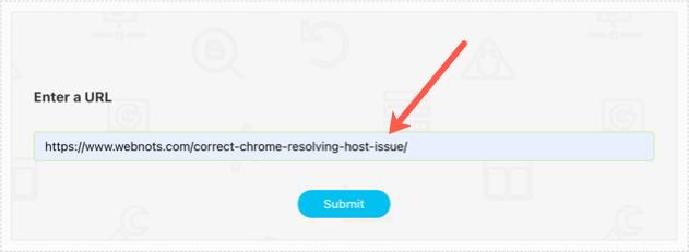 HTTP Header Checker Input