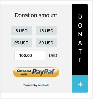 Donate Button Demo